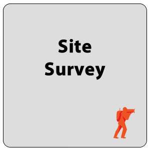 Site Survey of Broadcasting Location